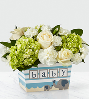 The FTD® Darling Baby Boy™ Bouquet