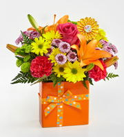 Send SAME DAY BIRTHDAY Delivery of Bright and Cheerful Flowers to celebrate to Grand Rapids Florist Sunnyslope Floral, MI