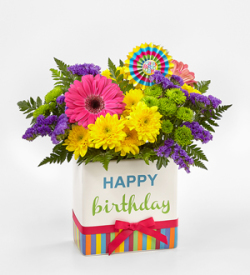 The FTDR Birthday BrightsTM Bouquet