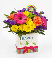 Send HAPPY BIRTHDAY FLOWERS today with a COLORFUL Bouquet from Sunnyslope Floral in Grand Rapids Metro Area including Ada, Holland, and Rockford