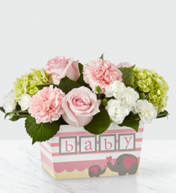 The FTD® Darling Baby Girl™ Bouquet