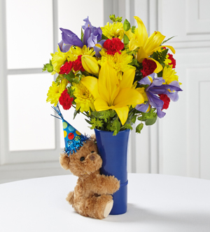 The FTDR Big HugR Birthday Bouquet
