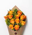 Bloom Haus Elegant Rose Bouquet - Orange