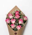 Bloom Haus Elegant Rose Bouquet - Pink