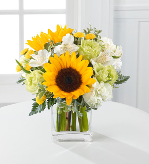 Send yellow, white, green FLOWERS to Brighten a day in Grand Rapids Area including Ada, Holland, Rockford Sunnyslope Floral