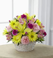 The FTD® Basket of Cheer® Bouquet