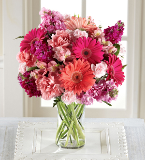 The FTD® Blushing Beauty™ Bouquet