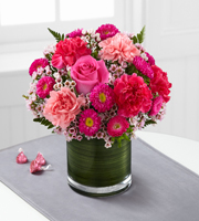 The FTD® Pink Pursuits™ Bouquet