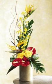 The FTD® Tropical Bright ™ Arrangement