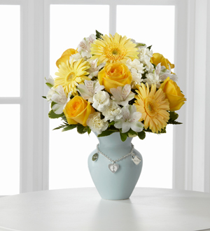 The FTD® Mother's Charm™ Bouquet - Boy