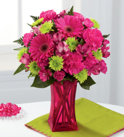 The FTD® Raspberry Sensation™ Bouquet