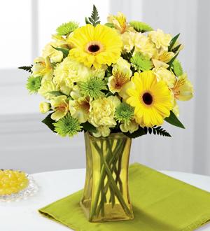 The FTD® Lemon Groove™ Bouquet
