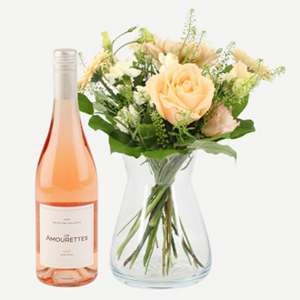 Lovely Greeting with Les Amourettes Rosé