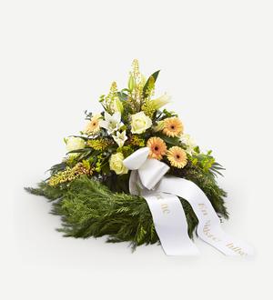 Decorative Wreath with Ribbon