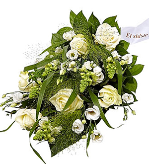 Funeral Spray Florist\'s Choice with Ribbon