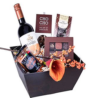 Gift Box for the Sweet Tooth, florist\'s choice
