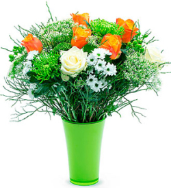 Fiery Bouquet