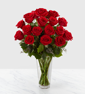 E2-4305	Long Stem Red Rose Bouquet by FTD®