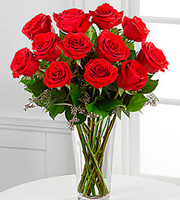 The Long Stem Red Rose Bouquet by FTD
