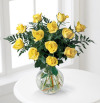 The FTD® Brighten the Day ™ Rose Bouquet