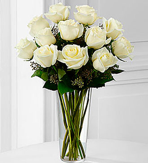 The White Rose Bouquet by FTD