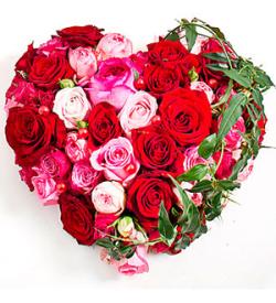 Heartshape Arrangement for Beloved