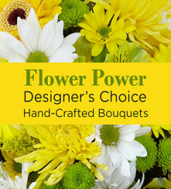Yellow Colors Florist Designed Bouquet