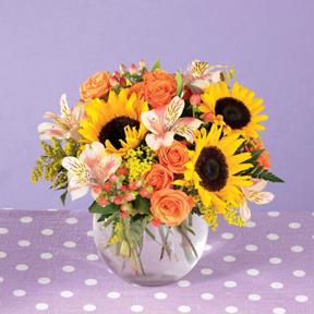 Sunny Exuberance Bouquet