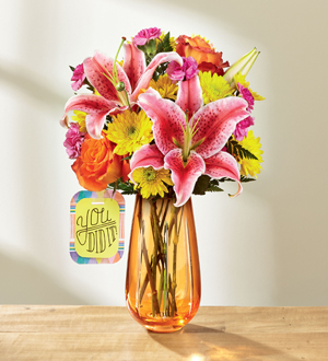 Jordan's Floral & Gifts The FTD® You Did It!™ Bouquet by Hallmark