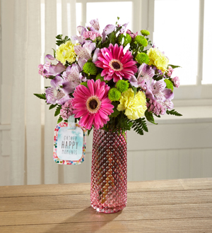 The FTD® Happy Moments™ Bouquet by Hallmark