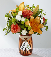 Order a FALL Flower Arrangement with Lilies, Roses, and more to DREAM BIG with Grand Rapids Local Florist Sunnyslope Floral