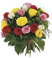 Bouquet of Roses multicolors