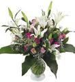 Big Lilies and Roses Bouquet
