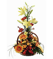 Fruit and Flower Basket