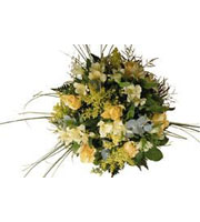Seasonal Bouquet in Yellow Shades