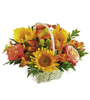 The FTD® Happy Blooms™ Basket