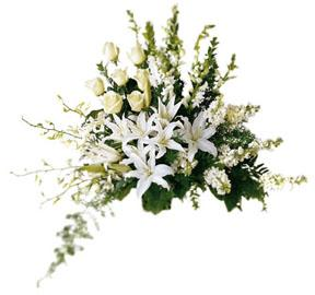 The FTD® Light In Your Honor™ Arrangement