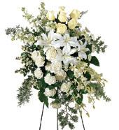 The FTD® Quiet Tribute™ Standing Spray