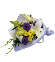 Obon (Buddhist Memorial Service) Sympathy Bouquet