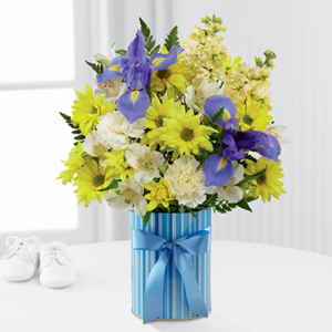Whiting Flower Shop The Ftd Little Miracle Bouquet Boy Whiting