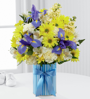 The FTD® Little Miracle™ Bouquet – Boy