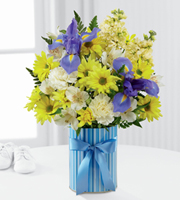The FTD® Little Miracle™Bouquet – Boy