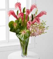 Alluring Luxury Orchid & Ginger Bouquet