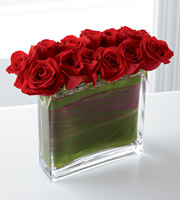 The FTD Eloquent Red Rose Bouquet