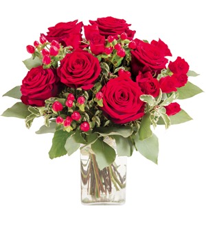 Bouquet of Red Roses \