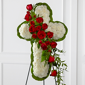 The FTD® Floral Cross Easel
