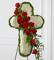 Le Chevalet FTD® Croix de Fleurs™