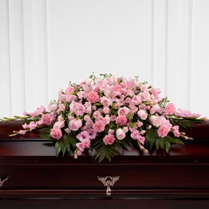 The FTD® Garden of Comfort™ Casket Spray