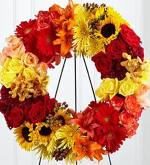 Rural Beauty Wreath