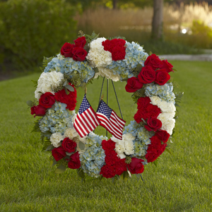 The FTD® To Honor One\'s Country™ Wreath